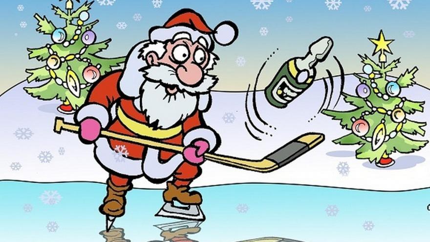 поздравления для хоккеистов с новым годом чем более красивая